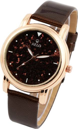 9ac59d377 Aelo Leather Belt Watch - For Girls - Buy Aelo Leather Belt Watch ...