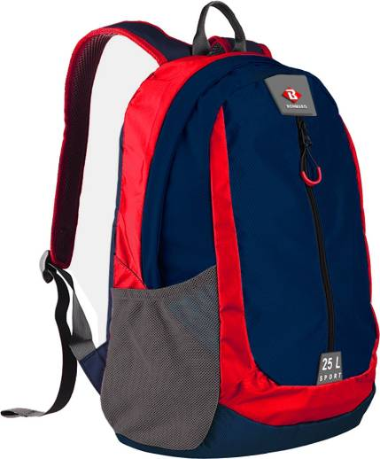 Bonmaro Sport Navy   Red 25 L Backpack Multicolor