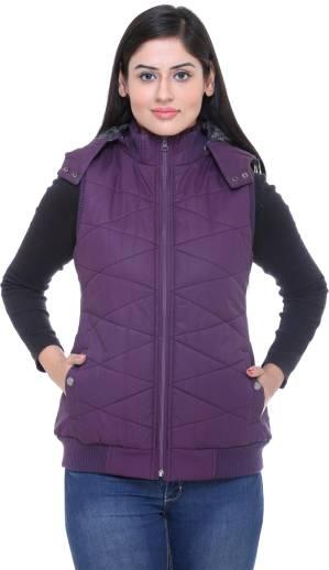 Trufit Sleeveless Solid Women Jacket