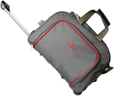 038c17ecd2452b KIPSTA by Decathlon Kipocket Travel Duffel Bag Grey - Price in India ...