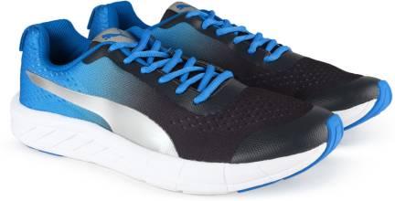 916a0866b16854 Puma Aeden Running Shoes For Men - Buy Puma Black-Blue Danube Color ...
