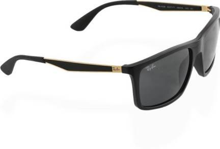 6809c416cc Buy Ray-Ban Retro Square Sunglasses Grey For Men Online   Best ...