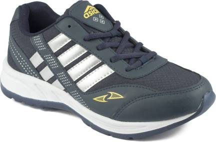 best authentic 204be 77ded Champs Running Shoes For Men - Buy Navy Blue Yellow Color ...