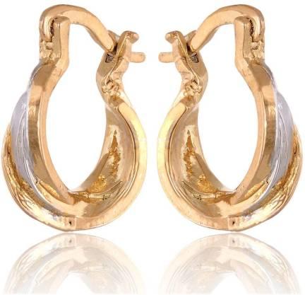 249897a74 Flipkart.com - Buy Sullery 8 mm Thick Gold Mens Huggie Earrings ...