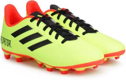 041140a8e269 ADIDAS PREDATOR 18.4 FXG Football Shoes For Men - Buy CBLACK FTWWHT ...