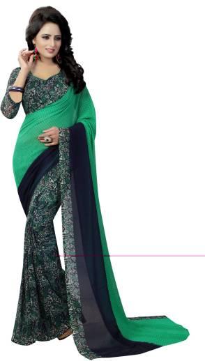 affb24dacc4 Buy Vedant Vastram Printed Bhagalpuri Art Silk Multicolor Sarees ...