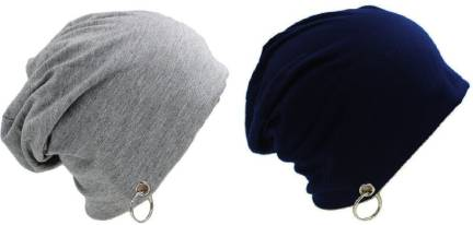 6fea972fb2f5a FashMade Solid Slouchy Ring Beanie Cap - Buy FashMade Solid Slouchy ...
