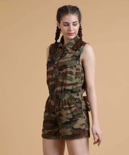 Forever 21 Self Design Womens Skorts Black Skirt Buy Black