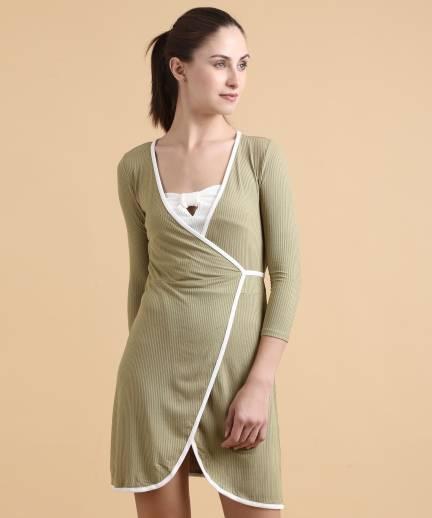 f3bb77012b36 Forever 21 Striped Women's Pencil White Skirt - Buy WHITE Forever 21 ...