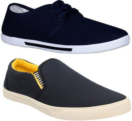 f74b959a57c8a Tommy Hilfiger Loafers For Men - Buy Dark Blue Color Tommy Hilfiger Loafers  For Men Online at Best Price - Shop Online for Footwears in India