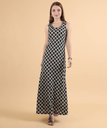 3fcf960bc89f Haute Curry By Shoppers Stop Women s Maxi Black Dress - Buy Black Haute  Curry By Shoppers Stop Women s Maxi Black Dress Online at Best Prices in  India ...