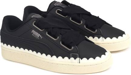 puma basket heart scallop