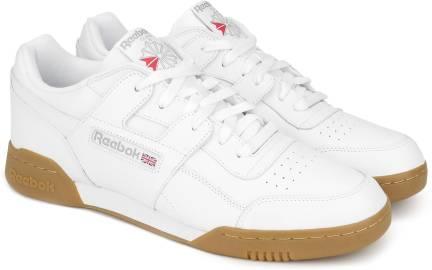 8a7c661753b REEBOK WORKOUT PLUS Sneakers For Men - Buy WHITE CARBON RED ROYAL ...