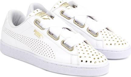 big sale 709ed 44e3b Puma Basket Heart Patent Wn's Sneakers For Women - Buy Puma ...
