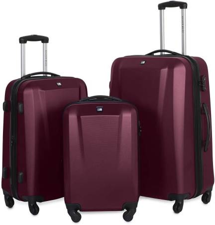 39a20d1977 Texas USA 28 inch 4 wheel Trolley Bag Expandable Check-in Luggage ...
