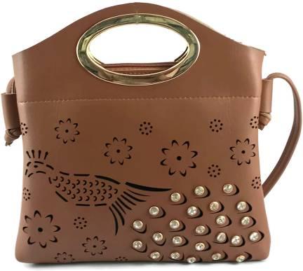 Buy PRIMEMART Women Red Sling Bag Red Online @ Best Price in