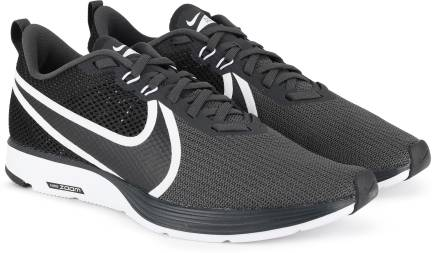 online shop new specials good selling Nike ZOOM STRIKE Running Shoes For Men - Buy BLACK/DARK GREY ...