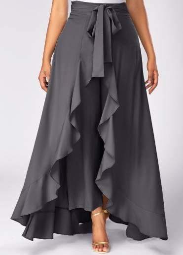 0ce61427f06f Addyvero Solid Women Flared Maroon Skirt - Buy Addyvero Solid Women ...