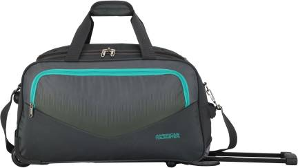 American Tourister Nuvo Expandable Cabin Luggage - 22 inch Black ... cd8a40622740d