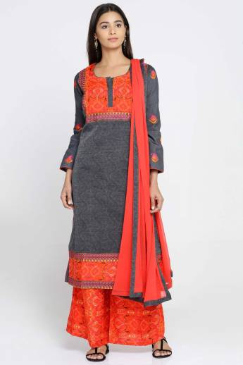 8bd2a18bd7 Soch Casual Printed Women's Kurti - Buy White Soch Casual Printed ...