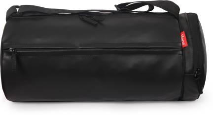 c2c7a95bbe9bc2 Komodo GYM_BAG_BLK_BLU_ZIP Gym Bag Black - Price in India | Flipkart.com