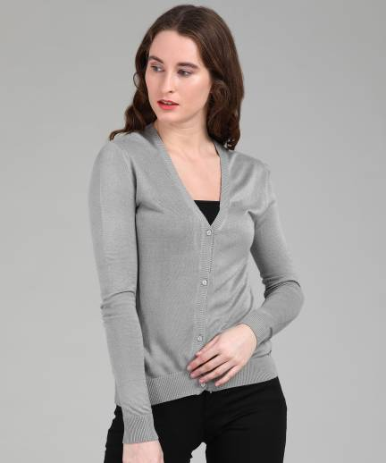 052d8fe02 Provogue Women s Button Cardigan Price in India - Buy Provogue ...