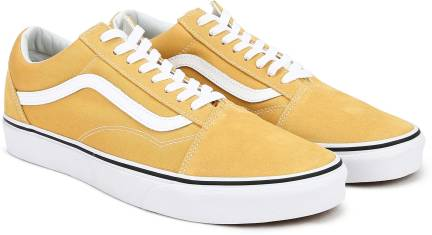 new product a5c73 92e4f Vans OLD SKOOL Sneakers For Men - Buy (SUEDE CANVAS) SPECTRA YELLOW ...