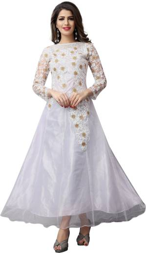 ddbb30fca26b Shop Now. Similar Products. Estela. Embroidered Net And Silk Anarkali Gown