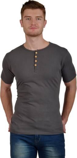 8c4c9d3931546 PrintOctopus Solid Men Round Neck Grey T-Shirt - Buy PrintOctopus ...