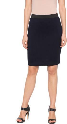 58d744cef Svt Ada Collections Solid Women Pencil Blue Skirt - Buy Blue Svt Ada ...