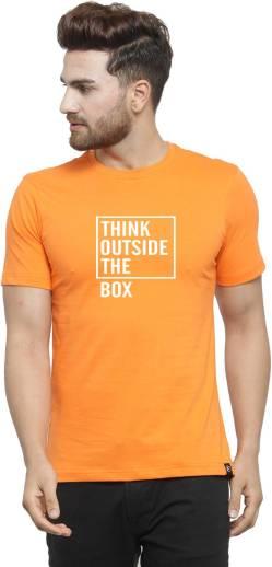 e243f8ef913 Rockstar Jeans Graphic Print Men s Round Neck Orange T-Shirt - Buy Summer  Orange Rockstar Jeans Graphic Print Men s Round Neck Orange T-Shirt Online  at Best ...