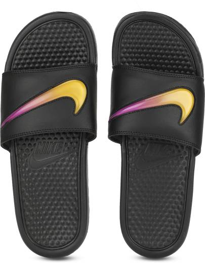 56eeffa8892524 Nike BENASSI JDI SS 19 Slides - Buy WHITE BLACK-BLACK Color Nike ...