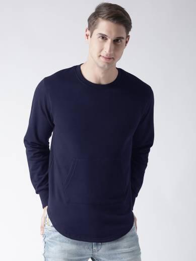 Young Trendz Full Sleeve Solid Men Sweatshirt