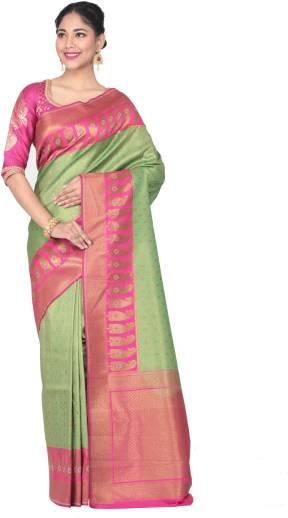 ff897f6d2d KEYA SETH EXCLUSIVE. KEYA SETH EXCLUSIVE Woven Fashion Pure Silk Saree