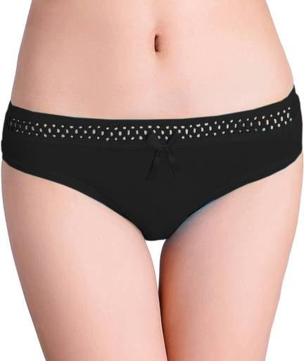 7efe7520ffa7 Lovable Women's Hipster Black Panty - Buy Black Lovable Women's Hipster  Black Panty Online at Best Prices in India | Flipkart.com