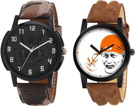 4b87fc6299adf Risol Combo Of Two Sporty Modish Gents Exclusive KK~369 Analog Watch ...