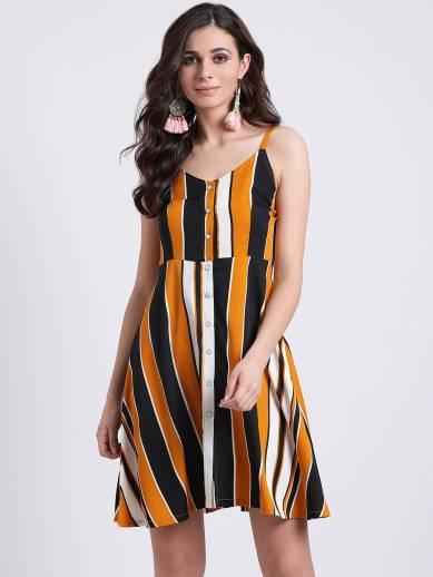 Aayna Women Shirt Yellow Dress