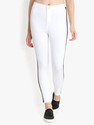 Skinny Women White Jeans
