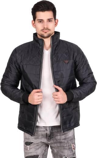 Christy WorldFull Sleeve Solid Men Jacket