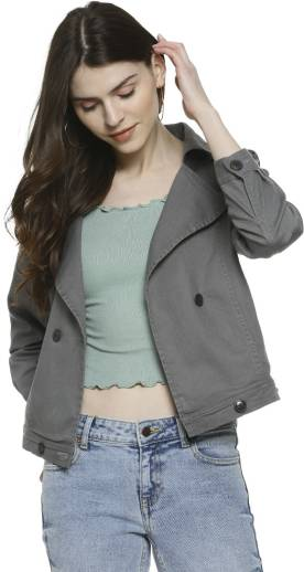 CAMPUS SUTRAFull Sleeve Solid Women Jacket
