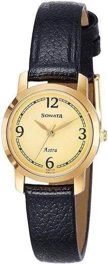 SONATANN87018YL02W Analog Watch   For Women