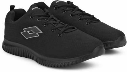 Lotto VERTIGO 3.0 BLACK RUNNING SHOES For MEN 10 Running Shoe For Men