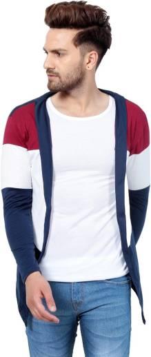 Men No Closure Solid Cardigan