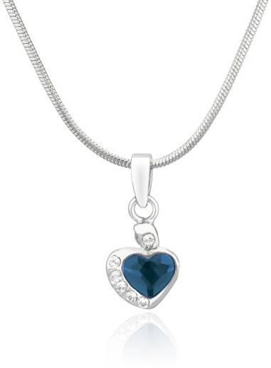 f2467700ce Candere F Love Rhodium Diamond Metal Pendant Price in India - Buy Candere F  Love Rhodium Diamond Metal Pendant Online at Best Prices in India