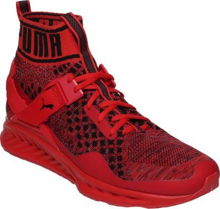 6206a92ad88 Puma IGNITE evoKNIT Running Shoes For Men - Buy Puma Black-QUIET ...