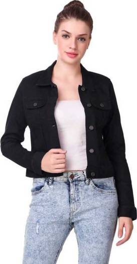 Full Sleeve Solid Women Jacket