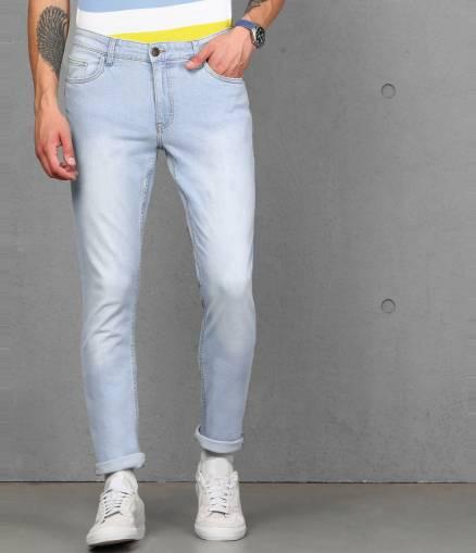Skinny Men Light Blue Jeans