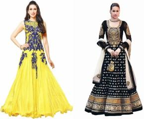 Min 50% Off - Reya Georgette Dress Material