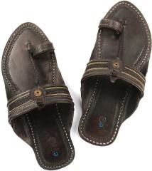 Min 50% Off - Leather Chappal'S Mens