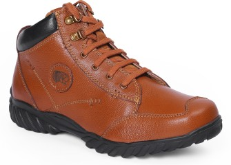 Min 50% Off - Mens Leather Boots